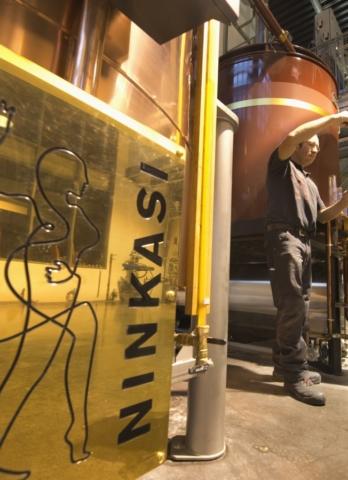 Juste un doigt… de whisky Ninkasi !