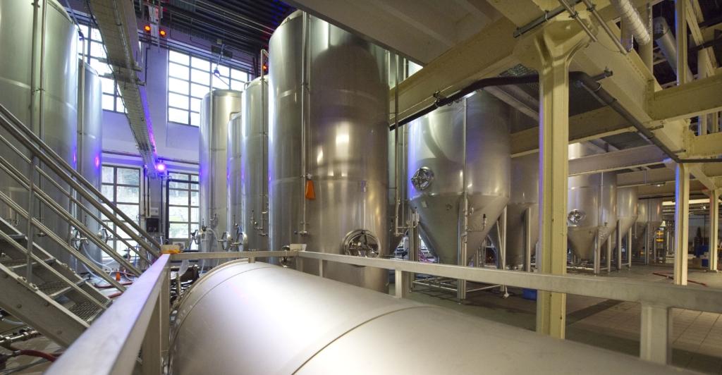 La fabrique de bières Ninkasi Tarare