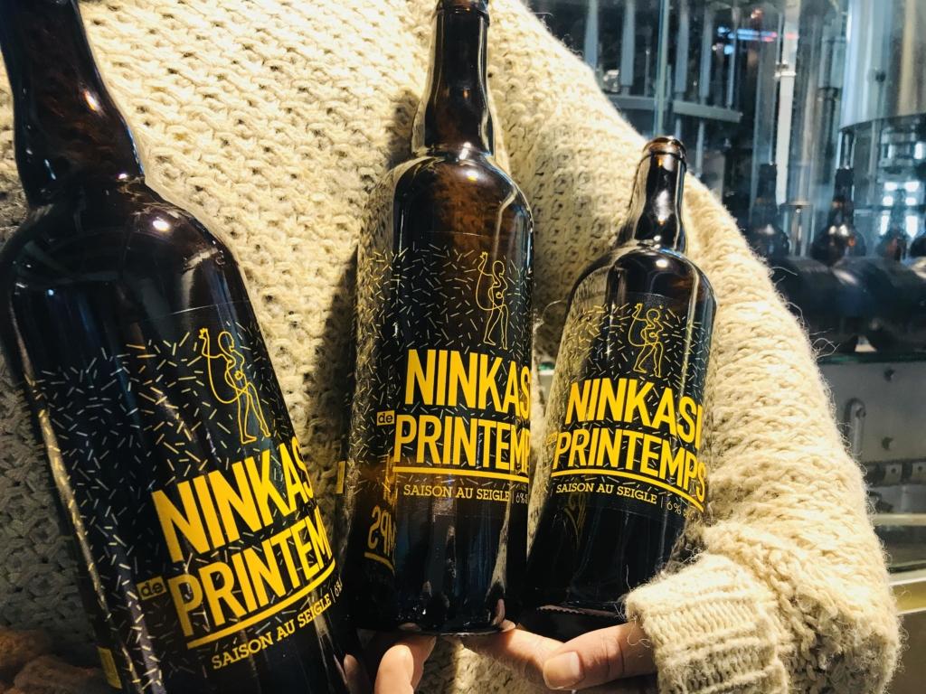 3 bières Ninkasi de Printemps