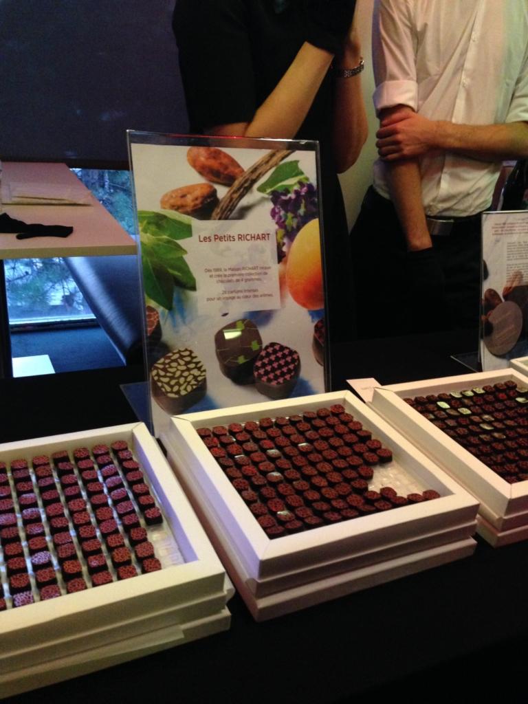 Côté gourmandise, la maison Richart a dégainé ses meilleurs chocolats