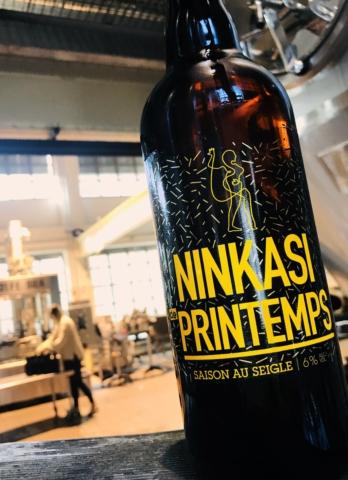 La bière Ninkasi de printemps version 2018 !