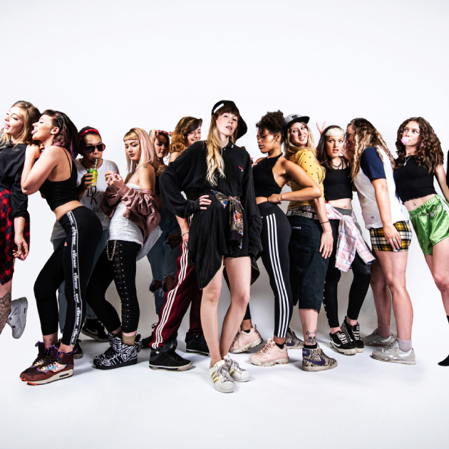 BADLAND #14 W/ 24HR GARAGE GIRLS