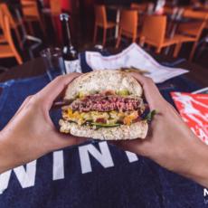 La recette du burger l'Etoile des Neiges