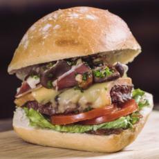La recette du burger Le Queen Forest