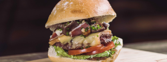 La recette du burger Le Queen Forest