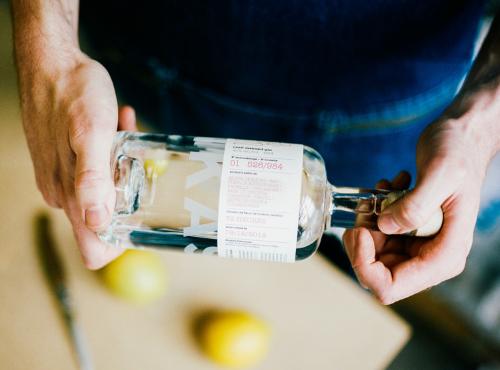 Retrouvez la liste des ingrédients sur l'étiquette © Ksenia Vysotskaya