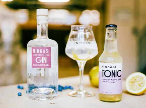 Et voilà un Gin Tonic 100% Ninkasi ! © Ksenia Vysotskaya