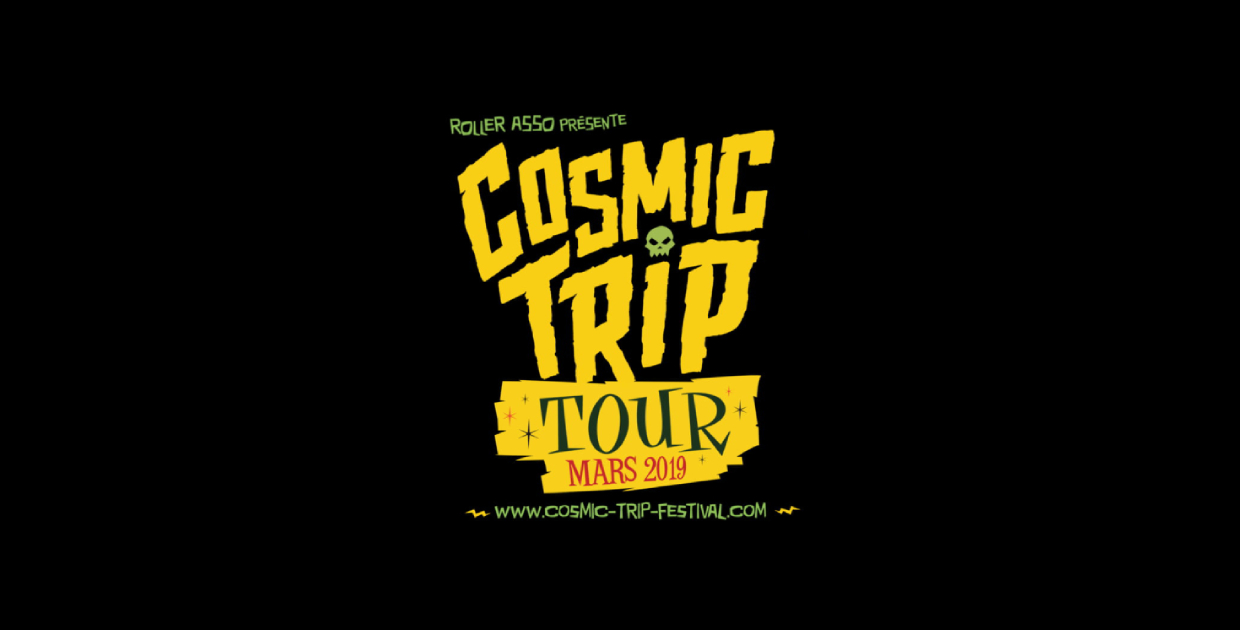 COSMIC TRIP TOUR : THE SCANERS, LES LULLIES, WEIRD OMEN & MORE