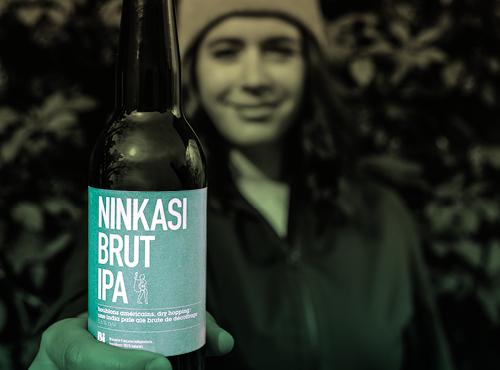 Lysanne, beer ambassador Ninkasi