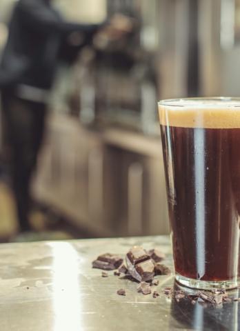 Une bière du mois au chocolat