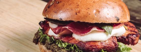 Le burger Pollo Per Lei