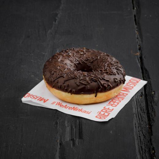 Donut triple chocolat, la base