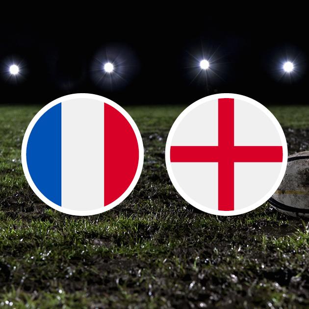 Coupe Du Monde De Rugby : Angleterre – France