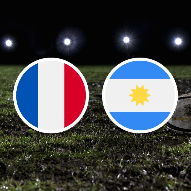 Coupe Du Monde De Rugby : Argentine – France