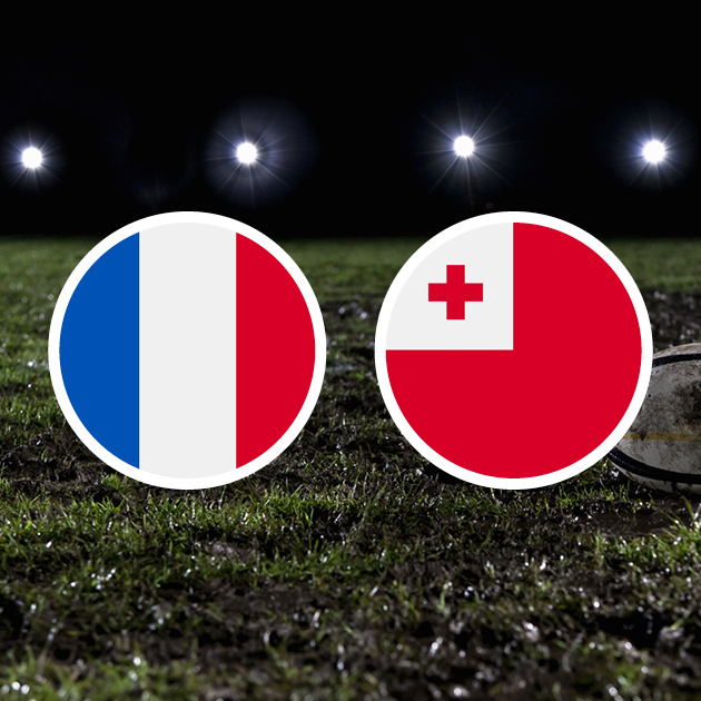 Coupe Du Monde De Rugby : Tonga – France