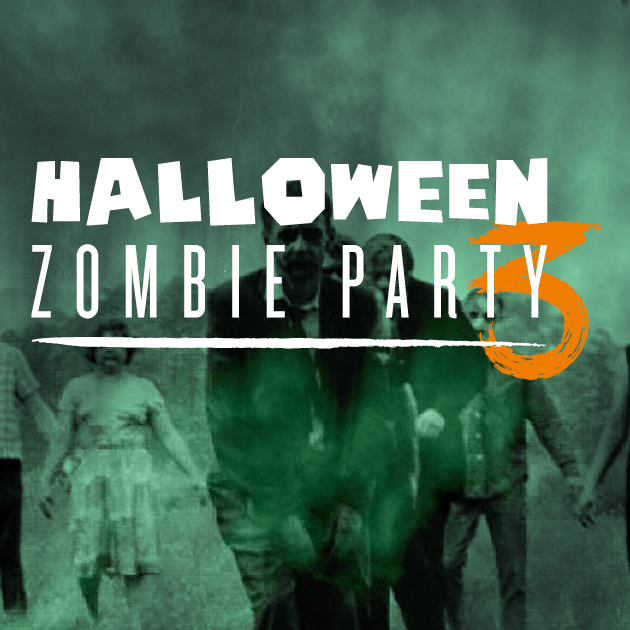 Halloween Zombie Party #3