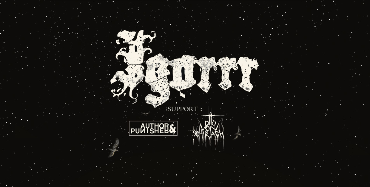 REPORTÉ · IGORRR + AUTHOR & PUNISHER + OTTO VON SCHIRACH