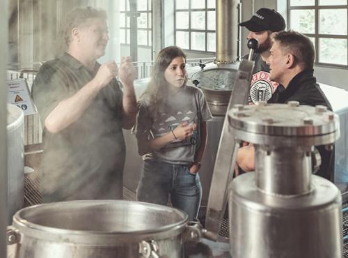 La fabrique de bières Ninkasi à Tarare