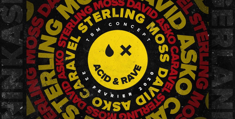 Acid & Rave : Sterling Moss, David Asko