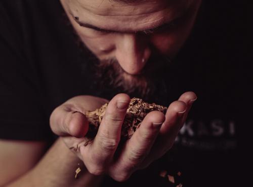 Les chips de fûts de Bourbon pour les notes boisées