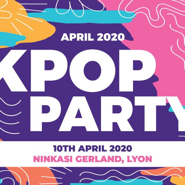Annulé · K-pop & K-hiphop Party