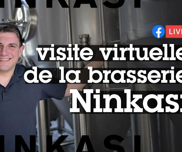 Visite virtuelle de la brasserie Ninkasi par David Hubert