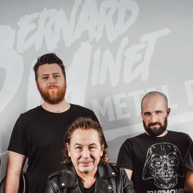 REPORTÉ · BERNARD MINET METAL BAND