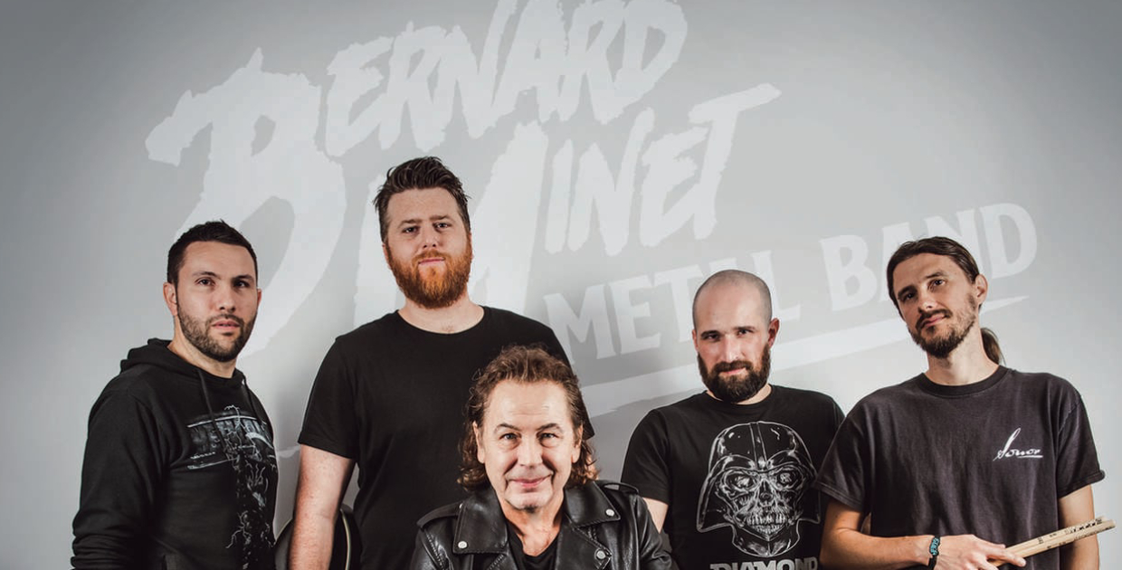 REPORTÉ · BERNARD MINET METAL BAND + THE ROADIES OF THE D