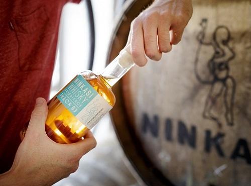 whisky et tonneau