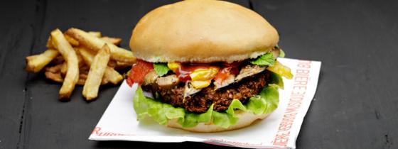 La recette du burger Veggiedream