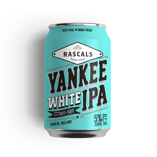 Yankee White IPA – Rascals Brewing co
