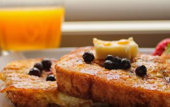 Recette de pain perdu aux fruits secs et à la Ninkasi Triple