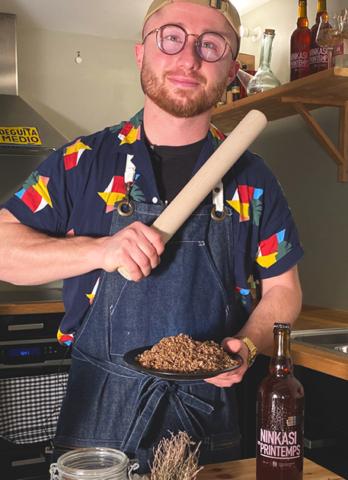 La recette des crackers aux drêches