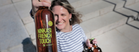 La Ninkasi French Touch : une Rye Lager 100% française !