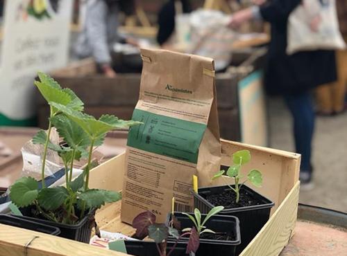 Le compost réalisé par les Alchimistes est aussi utilisable pour votre consommation personnelle.