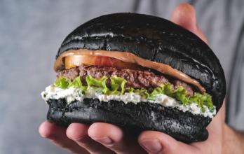 Le burger Sweet Black Mayo